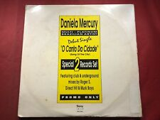 R1-41 DANIELA MERCURY O Canto Da Cidade .. WHITE LABEL PROMO .. 1993 .. DOUBLE