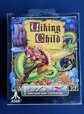 VIKING CHILD   Lynx Atari Collectors!! Rare New SEALED COMPLETE