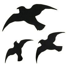 Windhager Selbstklebende Vogel-Silhouetten 3-Stück Pack - Schwarz (07116)