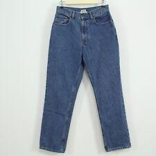 L.L. Bean Original Fit Blue Denim Straight Leg Jeans Women's Size 8