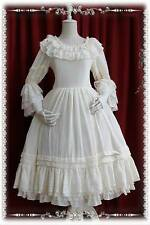 Infanta Gothic & Lolita white underdress princess sleeves
