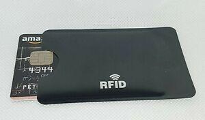RFID Schutzhüllen EC Kartenblocker Kreditkartenhülle Schutz NFC 1-5 Stück