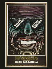 "Stevie Wonder Lincoln Crntre 16"" x 12"" Photo Repro Concert Poster"