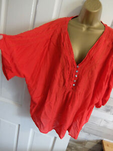 M&CO ● size 20 ● red blouse top womens ladies