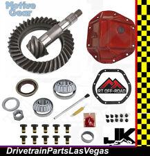 Jeep Wrangler JK Ring Pinion Gear Set HD Cover Install Kit Motive RTOffRoad 5.13
