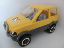 Playmobil jaune 4x4 Voiture Pour Vet/Animal Hospital/zoo/ferme/écuries jeux NEUF