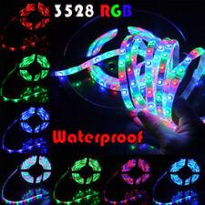 5M 3528 RGB Led Strip Flexible Tape SMD 300L 5M /16.4ft, Lights Waterproof 12V