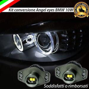 LUCI DI POSIZIONE A LED 6000K 20W PER FARI ANGEL EYES XENON BMW SERIE 3 E90 E91