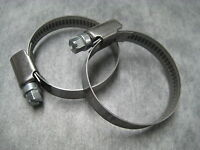 Narrow Band 9mm Steel Hose Clamp 25-40mm - Made in Germany Pk of 2 - Ships Fast!