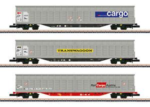 Märklin 82418 Spur Z Schiebewandwagen-Set der SBB Cargo 3-teilig#NEU in OVP