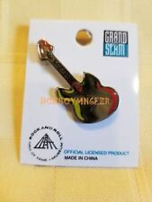 Rock n Roll Hall of Fame Guitar Souvenir Collector's Lapel Pin