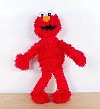 "Tickle Me Elmo Doll Sesame Street Plush Playtoy Talking Soft Stuffed Hasbro 21"""