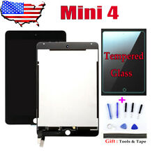 USA For iPad Mini 4 A1538 A1550 LCD Touch Digitizer Screen Assembly Black +Tools