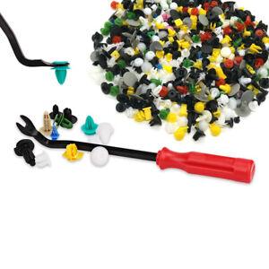 500pcs Lot Mixed Car Trim Fasteners Hood Wall Panel Plastic Rivet / Clip Remover