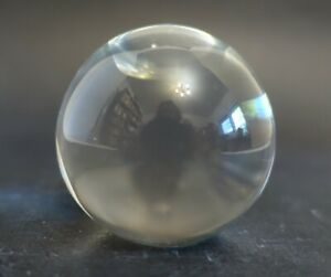 yab56  SMALL CRYSTAL BALL 2 INCH DIAMETER