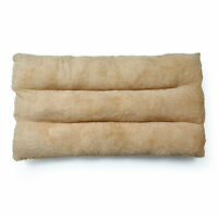 Dog Bed Pet Cat Puppy Deluxe 100% Sherpa Wool Faux Fur Washable Fleece Cushion