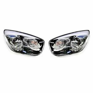 New Genuine OEM DRL LED Head Light Lamp LH RH Set for Kia Picanto 2011-2017
