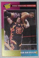 Bam Bam Bigelow WWF 1995 Magazine Card #69 WWE Pro Wrestling Legend Wrestlemania