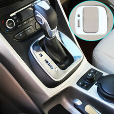 Fit For 13-16 Ford Escape Kuga Chrome Gear Shift Panel Cover Trim Frame Molding