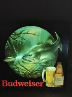 Vintage Anhueser Busch Budweiser Large mouth BASS in motion