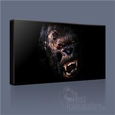 King kong Scimmia GIGANTE impressionante ad alto impatto iconica foto stampa tela arte Williams