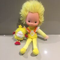 Rainbow Brite 🌈 Vintage 80s Doll Canary Yellow & Sprite