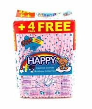HAPPY Colored Diapers Rainbow Collection MEDIUM 30's