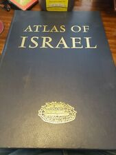 The Atlas of Israel: Cartography, Physical And Human Geography (Eng & Heb Ed.)