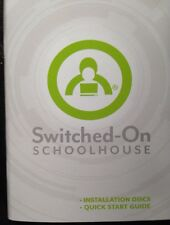 Switched On Schoolhouse 2016 Installation CDs - Discs And Quick Start Guide NEW!