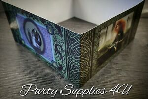 Disney Brave Card Box/Cake wrap. Magazine/Sweets/Display/Merida/Celtic/Pixar