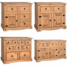 Corona 1 2 3 4 Door Drawer Mexican Solid Waxed Pine Living Room Furniture Unit