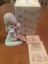 "Enesco Precious Moments""His Burden Is Light"" E-1380/G 1978"
