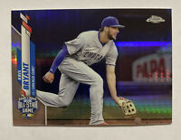 2020 TOPPS CHROME UPDATE KRIS BRYANT XFRACTOR REFRACTOR #d /99 U-62 CUBS