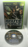 Brute Force - Complete - Case and Game Disc - Tested & Works - Original Xbox