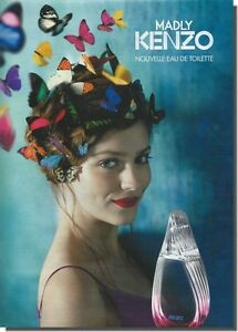 Publicité Advertising 2012 - MADLY KENZO  (Advertising paper)