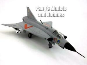 SAAB J.35 Draken Swedish Air Force 1.72 SOUS BLISTER METAL