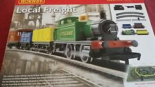 hornby local freight electric train set, starter set