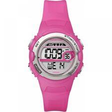 T5k7714e Timex T5k771 Ladies Marathon Bright Pink Resin Watch