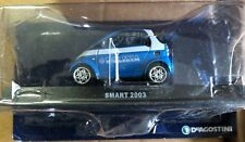 "DIE CAST "" SMART 2003 "" POLIZIA SCALA 1/43"