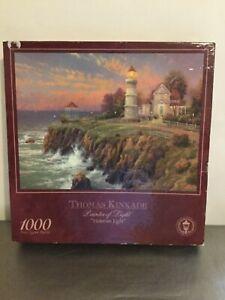 "Thomas Kinkade Painter of Light ""Victorian Light"" 1000 Piece Jigsaw Puzzle"