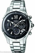 Casio Women's Stainless Steel Wristwatches with Chronograph