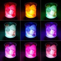 Himalayan Salt Lamp Natural Crystal Rock Dimmable Night Light Color Changing