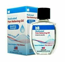 bB Deep Muscle Pain Relief Oil For Strains Backache Bruises and Sprain