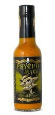 Dr Burnorium Psycho Juice 148ml Ghost Pepper Mustard Very Hot Chilli Sauce Gift