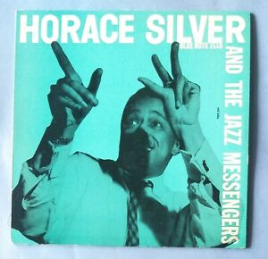 HORACE SILVER and the Jazz Messengers -  blue note original Italy LP NM