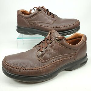 Clarks Leather Oxford Casual Comfort Walking Shoes Men's Size 11.5 M Brown 30088
