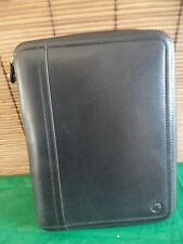 Franklin Covey Classic Size Leather Binder 7 Rings 15 Per Ring 95 X 75