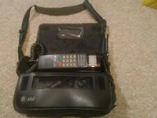 VINTAGE AT&T Car Bag MOBILE Phone Transmobile Cellular Telephone 3430 with Case
