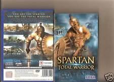 Spartan TOTAL WARRIOR PLAYSTATION 2 PS 2 PS2 Rara