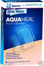 Spenco 2nd Skin AquaHeal Medical Sport Bandage Burns Cuts Bite Blister 48-239